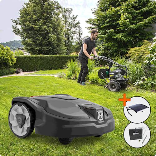 Husqvarna Automower® 305 Installerad och Klar