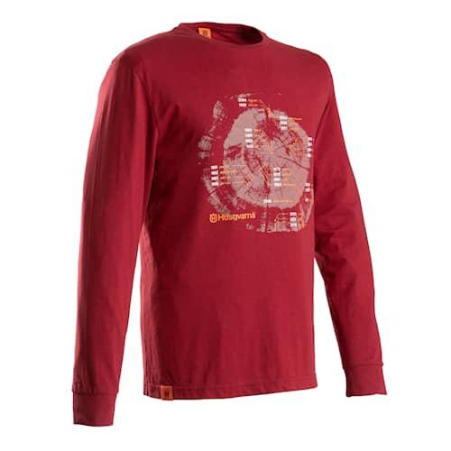 Husqvarna Xplorer Röd Långärmad T-Shirt
