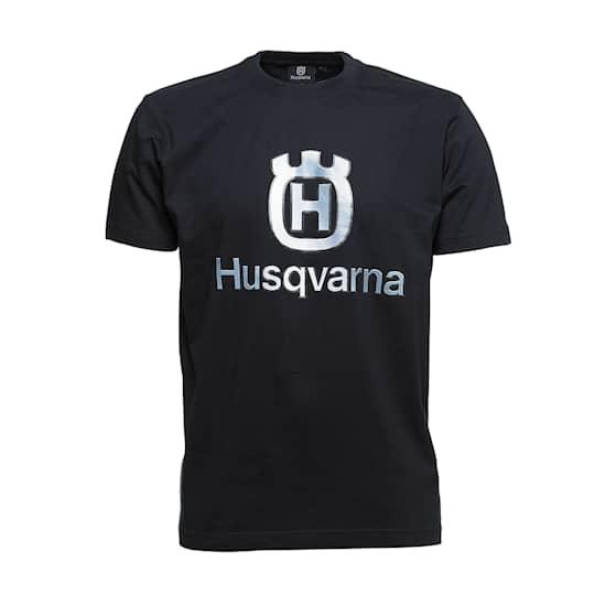 Husqvarna T-Shirt Med Husqvarna-tryck