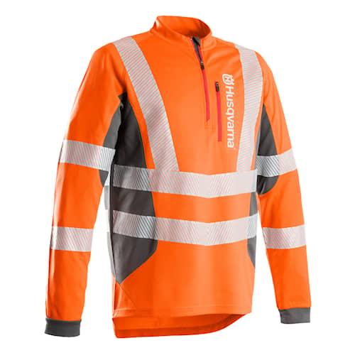 Husqvarna Technical High Viz långärmad T-Shirt L