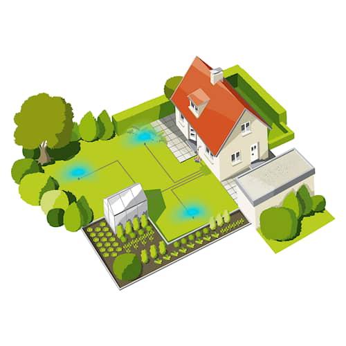 Gardena Pipeline Startpaket 3 kanaler