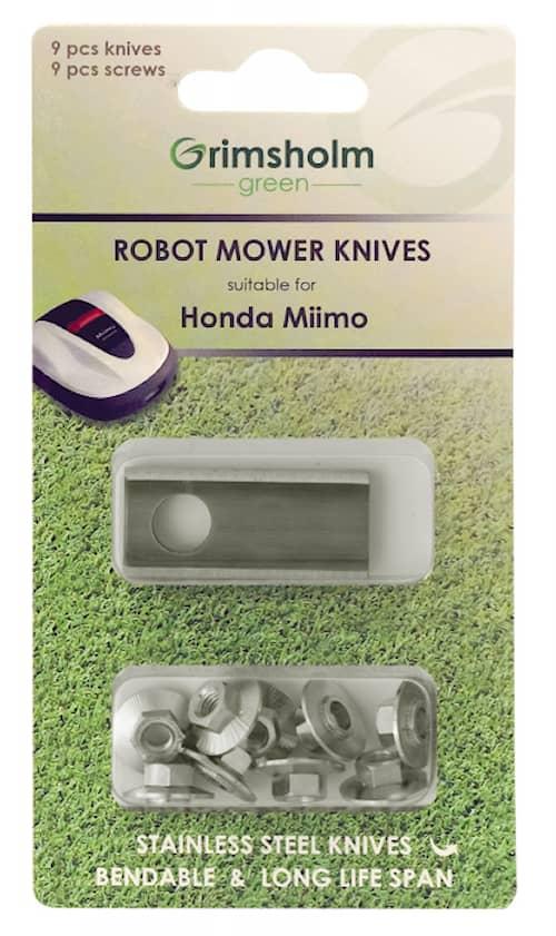 9-pack knivar till Honda Miimo