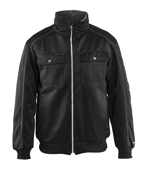 Pilot jacket  Svart