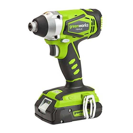 Greenworks 32047 - 24v Slagskruvdragare med batteri