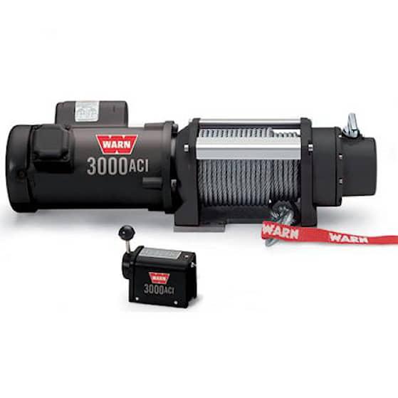 Warn Works 3000, 230V vinch