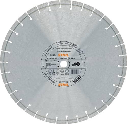 Stihl Diamantkapskiva D-Sb80 Ø 300 mm