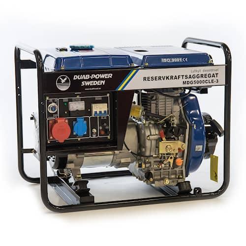 Elverk MDG5000CLE-3 3-fas diesel