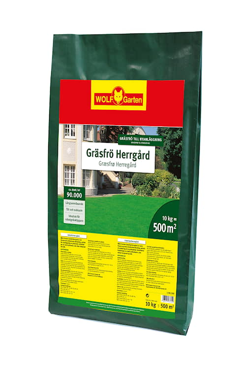WOLF-Garten L-HG 500 Gräsfrö Herrgård 500 m²