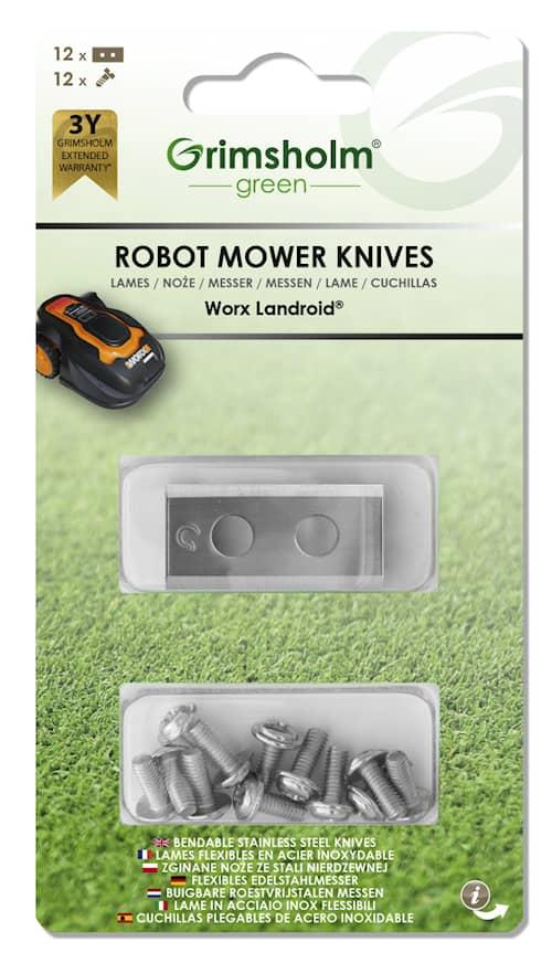 12-pack knivar till Worx