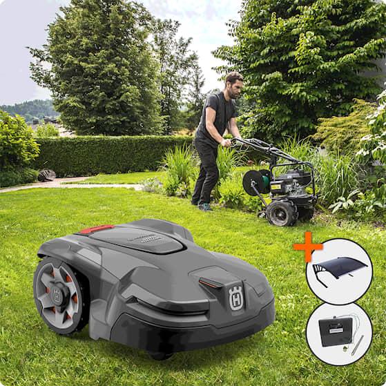 Husqvarna Automower® 405x Installerad och Klar