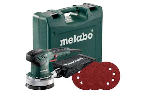 Metabo SXE 3125 Set inkl. 25 självhäftande slipark Excenterslip