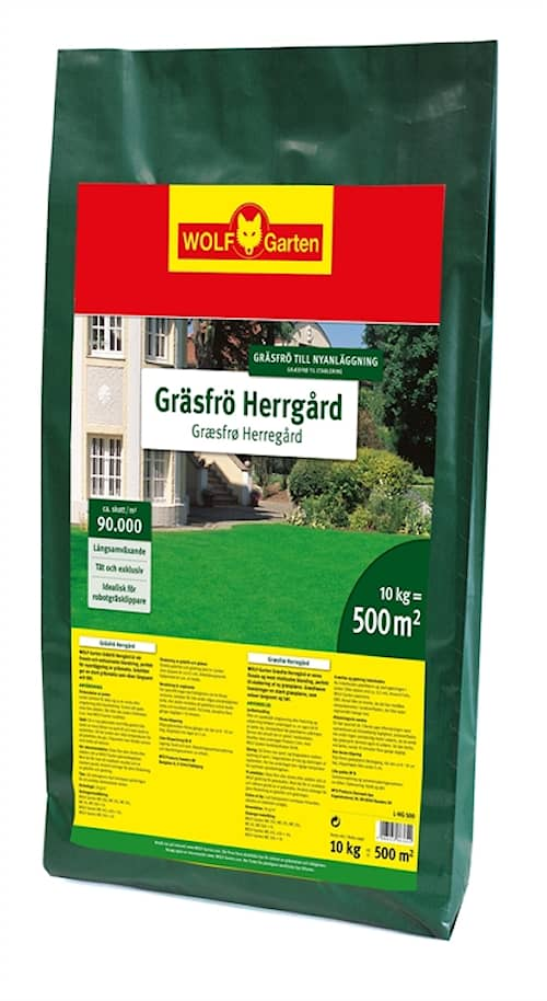 WOLF-Garten L-HG 125 Gräsfrö Herrgård 125 m²