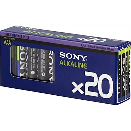 Sony stavbatteri 1,5V AAA LR03