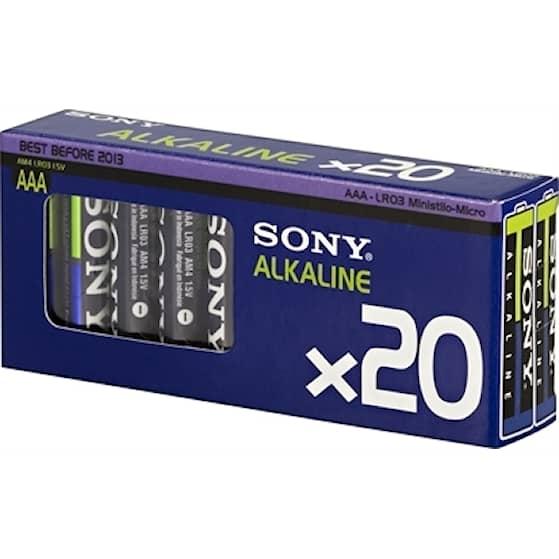 Sony Stavbatteri 1,5v AA LR06