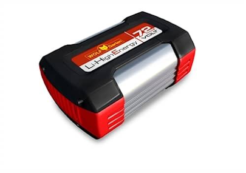 WOLF-Garten 72v 2,5ah battery pack