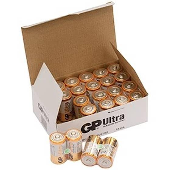 GP Ultra 24-Pack LR14 Batteri