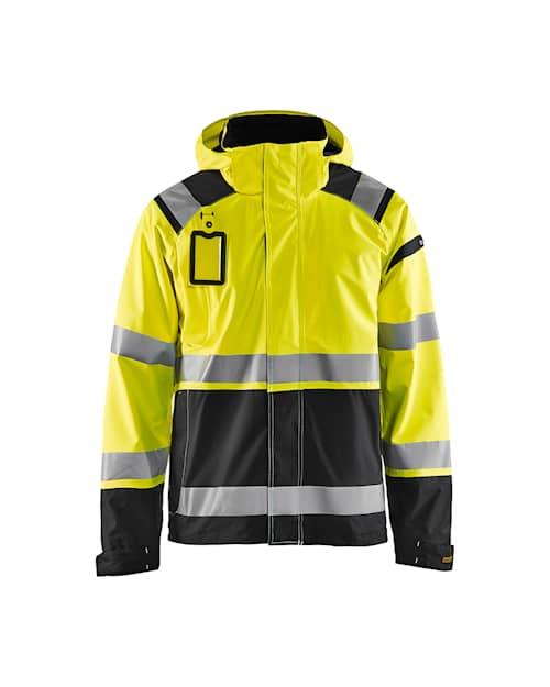 Hi-vis shell jacket Gul/Svart