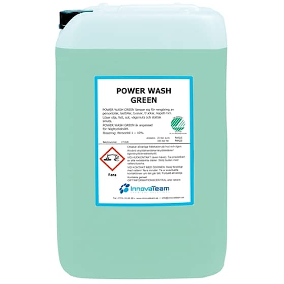 Powerwash Green 25L