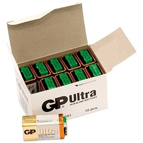 GP Ultra 9V Batteri