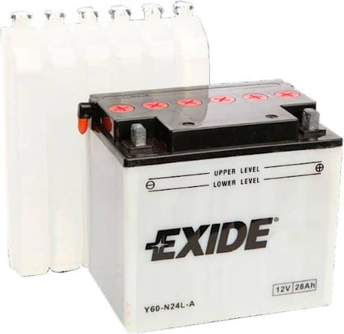 Exide 12N28-3 Batteri för trädgårdstraktor