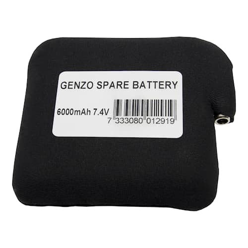 Extrabatteri Genzo Artic värmeväst 6000mah