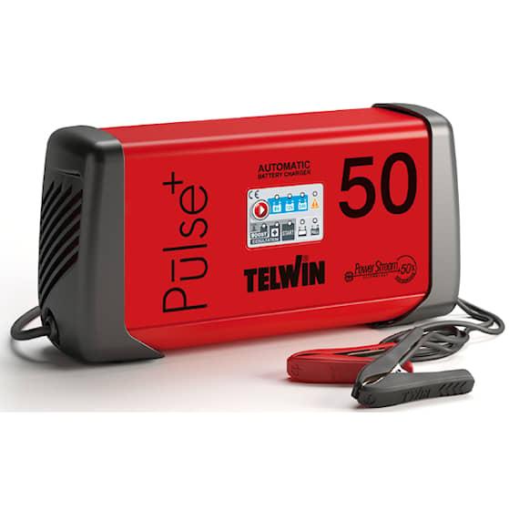 Telwin Pulse 50  6/12/24 V Batteriladdare