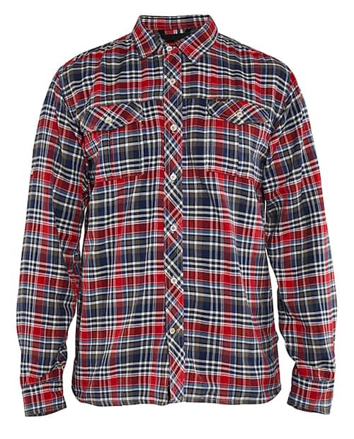 Skjorta  Marinblå/Röd