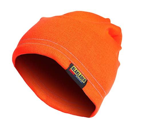 Varselmössa med reflex Orange