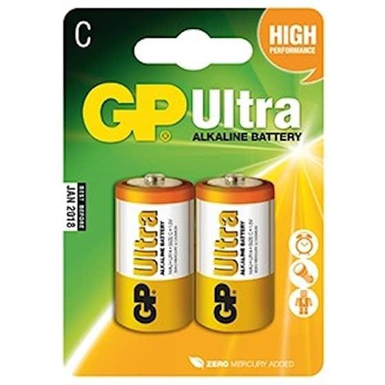 GP Ultra LR14 Batteri