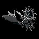 Husqvarna Plog med metallhjul, 1000366025