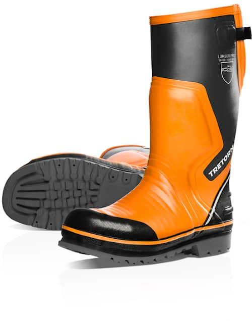 Arbesko 72613 Tretorn Orange/Svart 36 Skyddsstövel