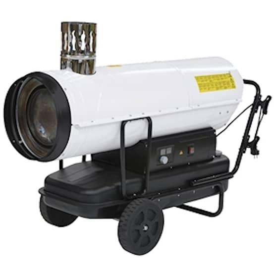 Kinlux 50Kw Dieselkanon med skorsten