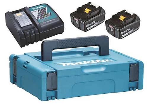 Makita Batteri & laddare Powerpack 2st 4 ah BL1840B & lad