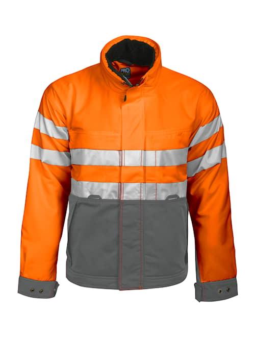 ProJob 6407 Jacka HV Orange/Grå kl.3 4XL