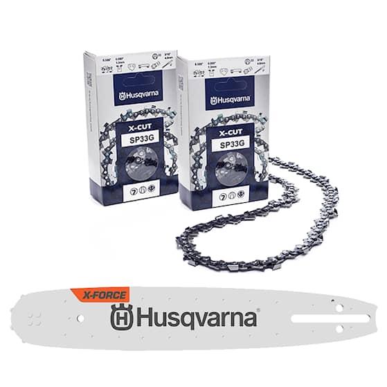 Husqvarna Svärd & kedjepaket X-Cut 18'' 1.3mm .325 72dl
