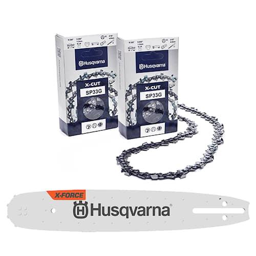 Husqvarna Svärd & Kedjepaket 15'' .325'' X-Cut 1.3mm 64dl