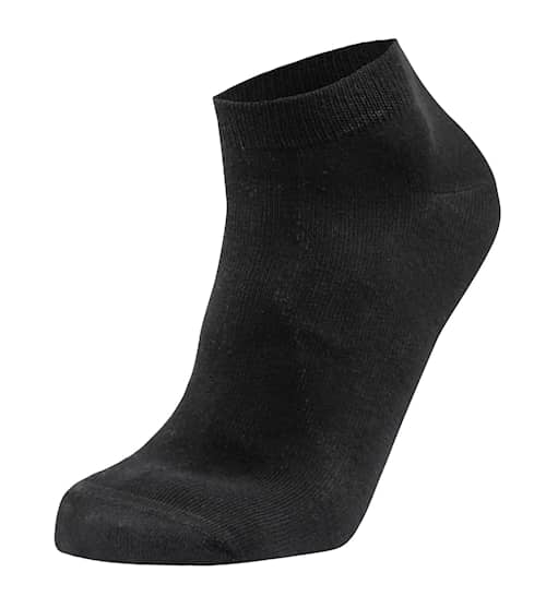 Low cut cotton sock Svart