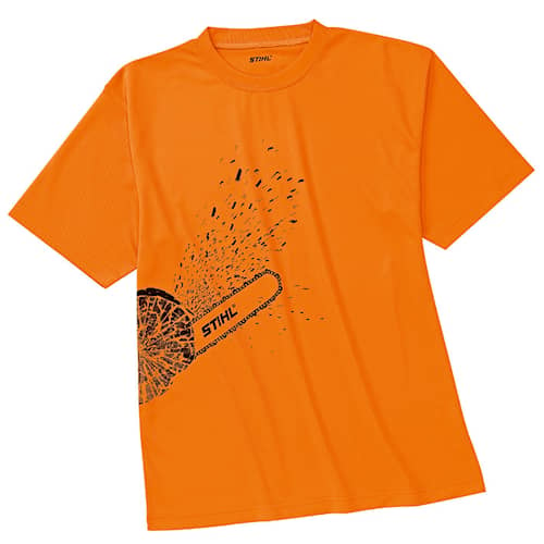 T-shirt DYNAMIC orange high-viz, str. S