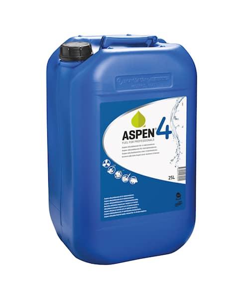 Aspen 4 Alkylatbensin 12x25l, Miljöbensin
