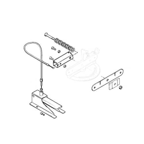 Stihl Pedal med spännanordning till USG/HOS