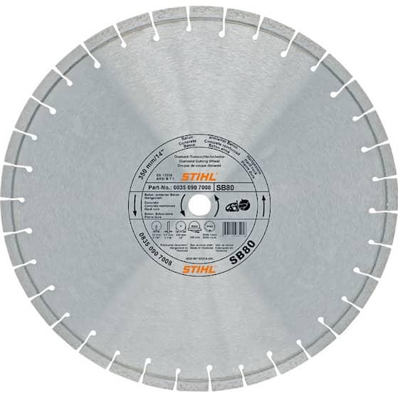 Stihl Diamantkapskiva, Ø 350 mm D-SB80
