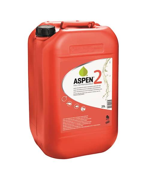 Aspen 2 Alkylatbensin 12x25l, Miljöbensin oljeblandad