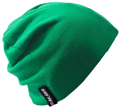 Stickad mössa Green limited