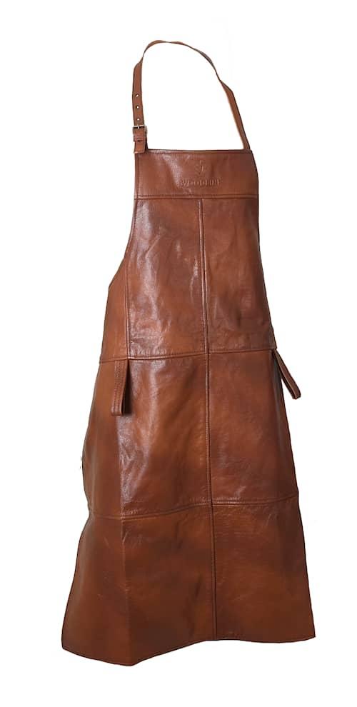 Woodline Skinnförkläde Buffel