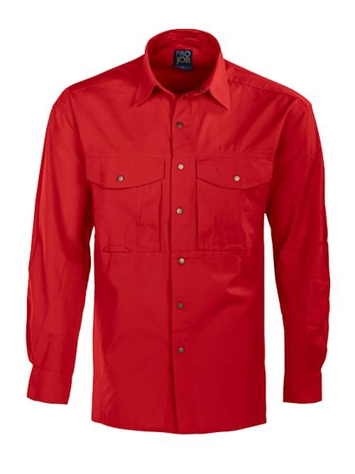 ProJob 5210 Skjorta Röd XS