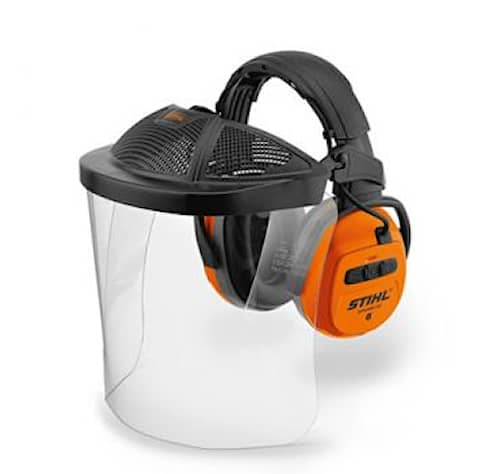 Stihl Hörselskydd Dynamic BT Bluetooth  med Plexivisir