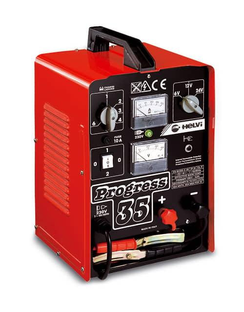 Helvi Progress 35B 6/12/24/36/48V 38A Batteriladdare