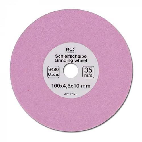 Slipskiva 100 x 4,5 x 10 mm