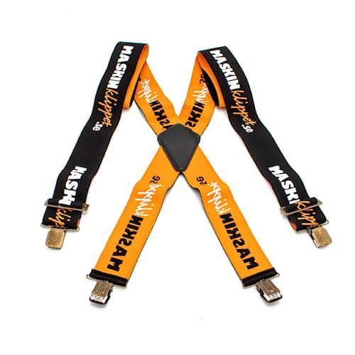 Hängslen elastiska med clips