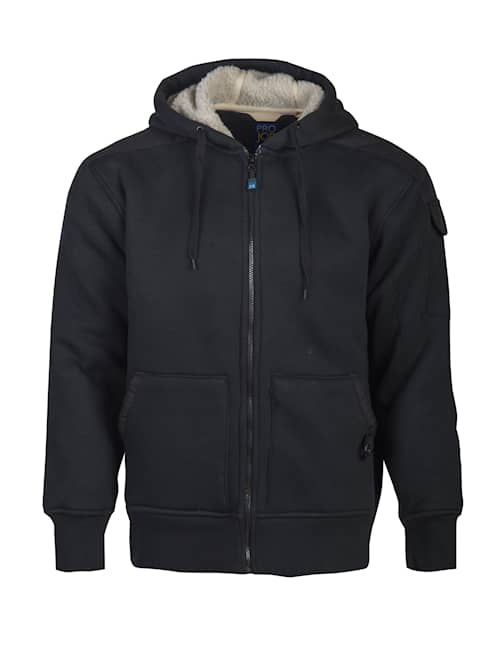 ProJob 2117 Pile Hood Jacket Svart XS